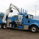 Articulating Crane Attachment For Truck