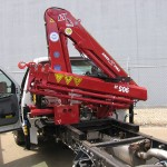 Articulating Crane Truck Attachment