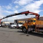 Palfinger Articulating Crane Equipment