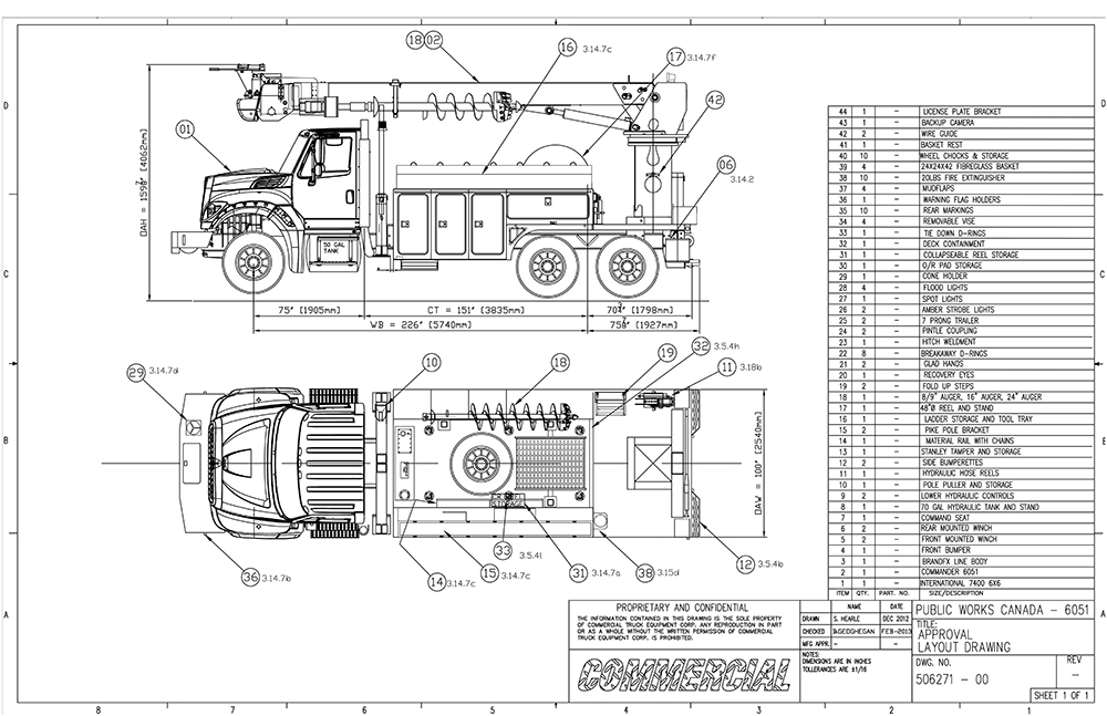 About commercial truck equipment truck bodies and more - General notes for interior design drawings ...