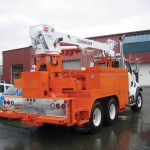 Digger Derrick Truck Attachment