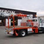 Commercial Truck Derrick Attachement
