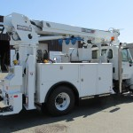 Commercial Truck Radial Boom Derrick Attachement