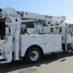 Commercial Truck Radial Boom Derrick Attachement