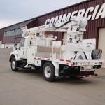 Radial Boom Digger Derrick Truck Attachment