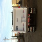 Backend of Dump Truck