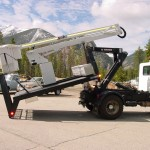 Heavy duty hooklift attachments for trucks.