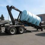 Hooklift truck attachement