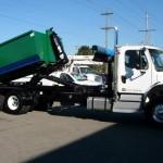 Hooklift for dumpster bins