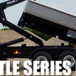 Shuttle series hooklift attachments for commercial trucks.