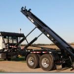Hooklift equipment for trucks.