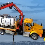 Articulating Crane Equipment For Trucks