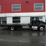 Flat Bed Commercial Tow Truck