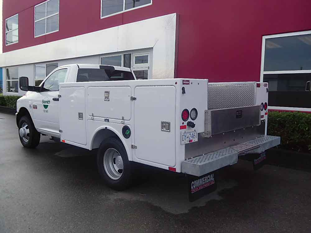 Service Body Tool Cabinet : Service truck bodies tool storage mining utility
