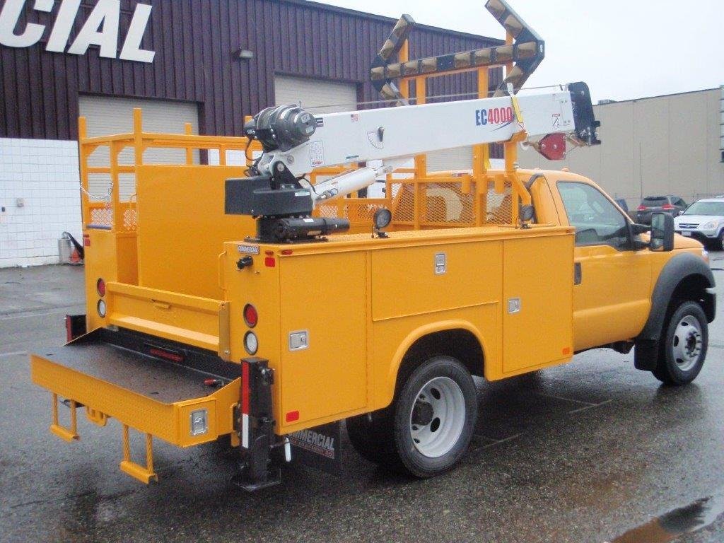Service Bodies For Pickups : Service trucks for tool storage commercial truck equipment