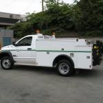 Small service truck body.