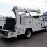 Maintainer commercial service truck body.