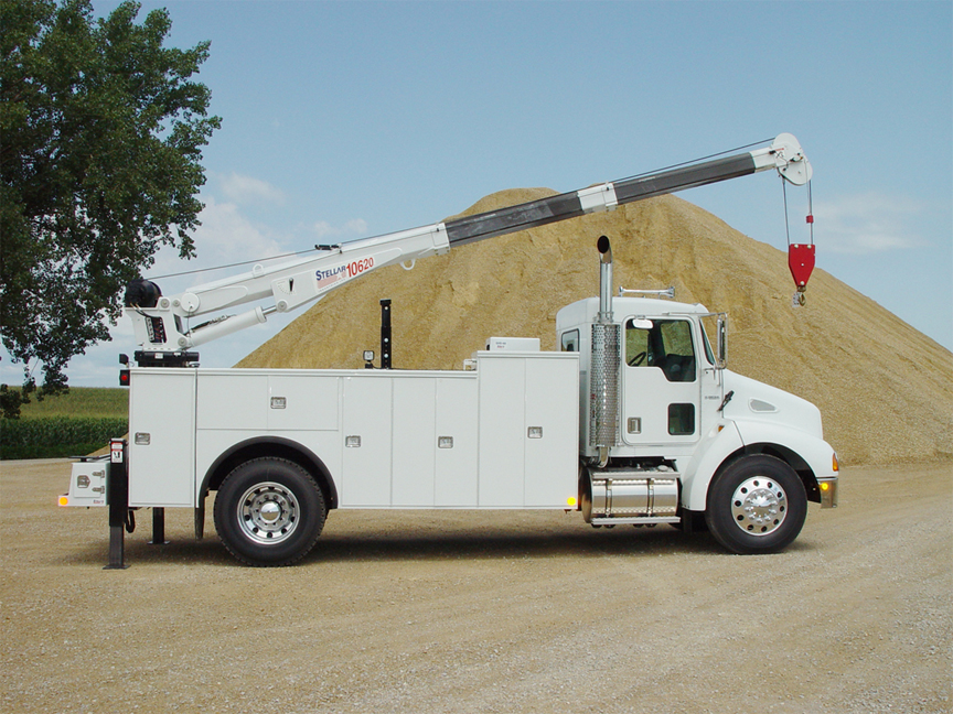 Service Trucks for Tool Storage | Commercial Truck Equipment