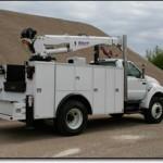 Stellar service truck body.