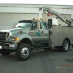 Commercial Truck Service Crane