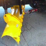 snow shovel truck attachment