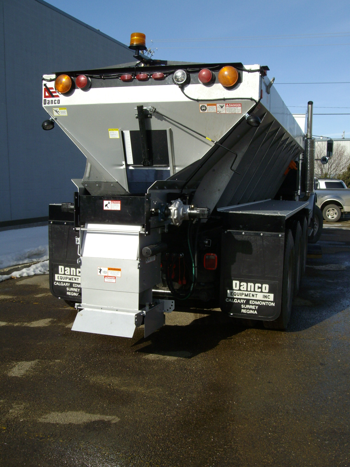 Snow Plows And Salt Spreaders For Trucks Commercial