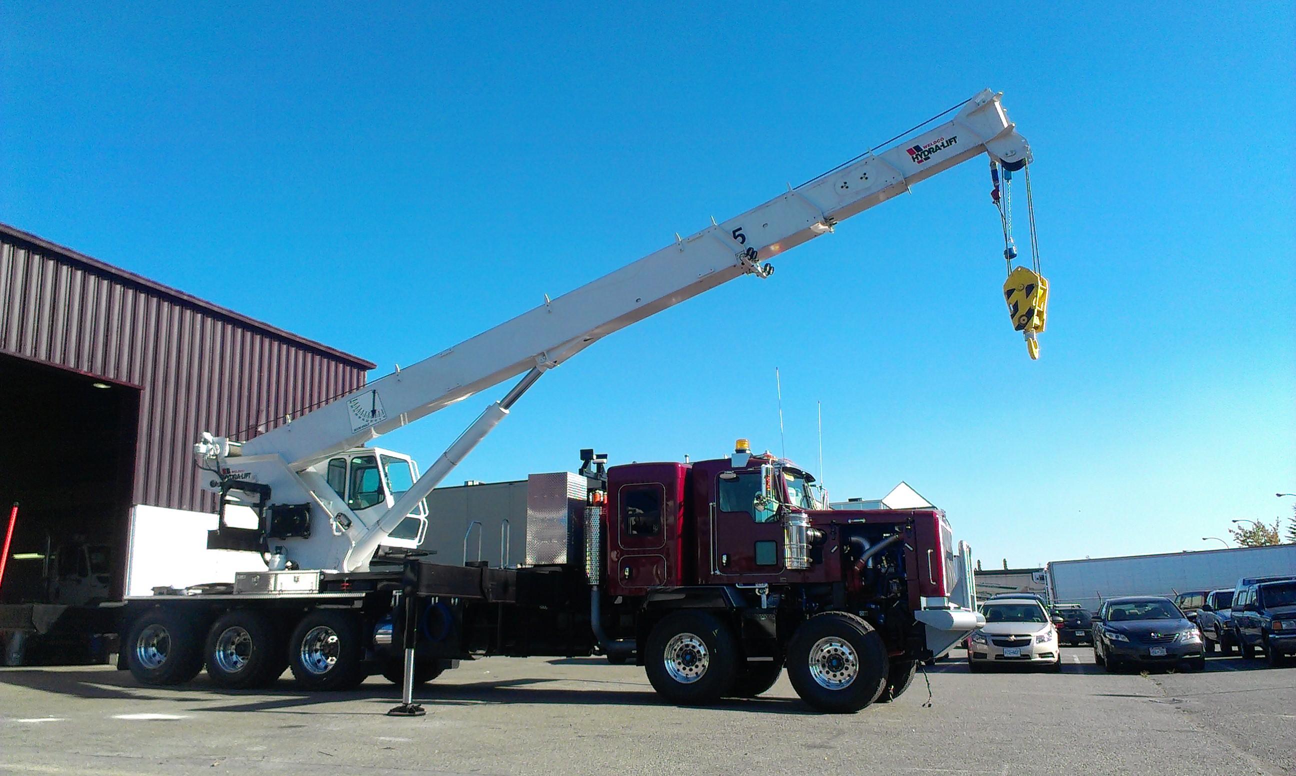 Tractor Hydraulic Boom Crane : Stiff boom cranes for trucks commercial truck equipment