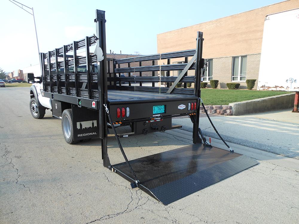 Industrial Lift Gate : Truck tailgates for commercial trucks