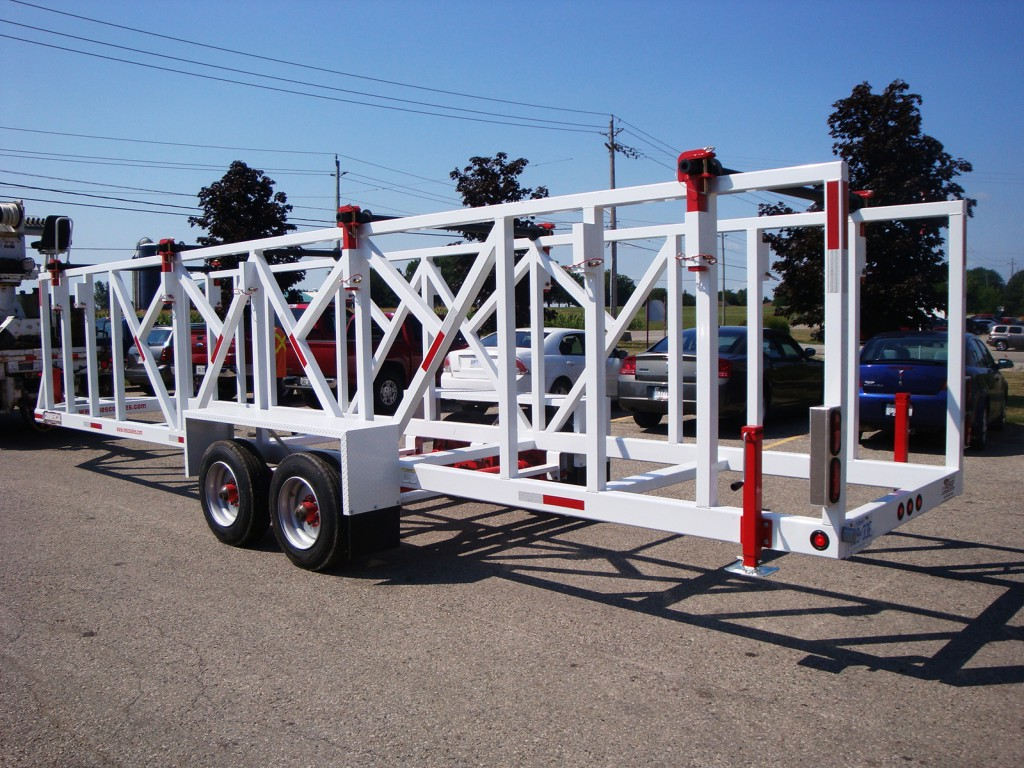 Reel and Pole Trailers