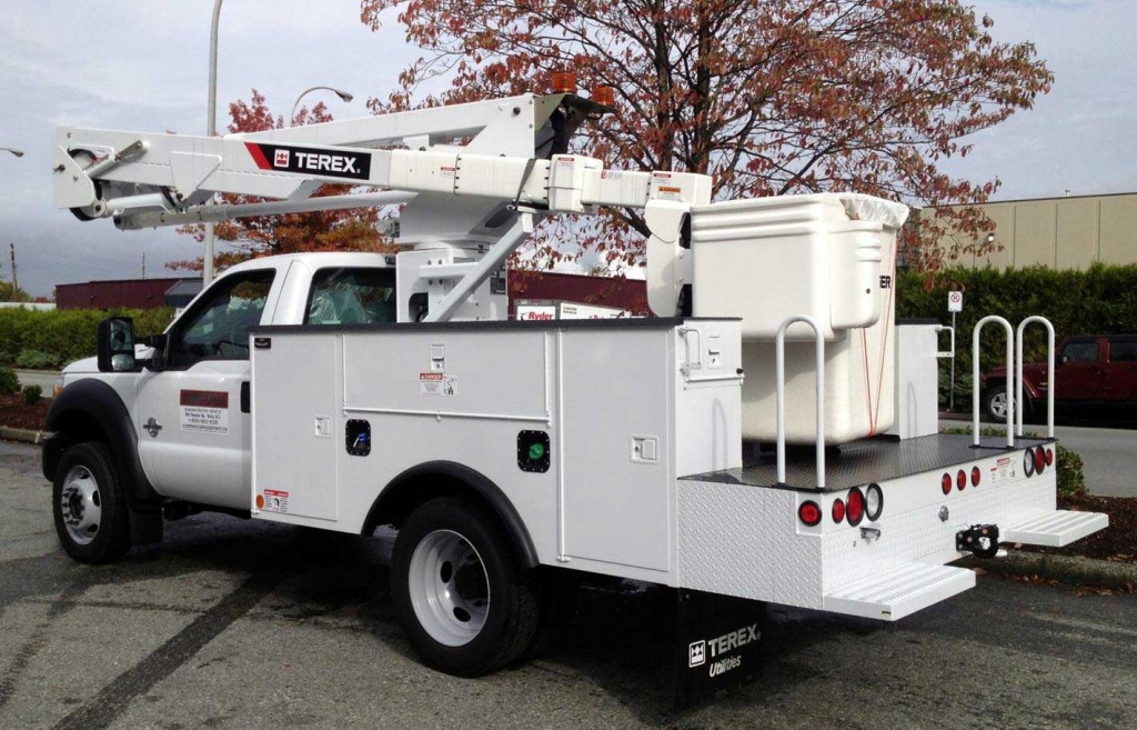 Terex Hi-Ranger LT40 Aerial on Ford F550