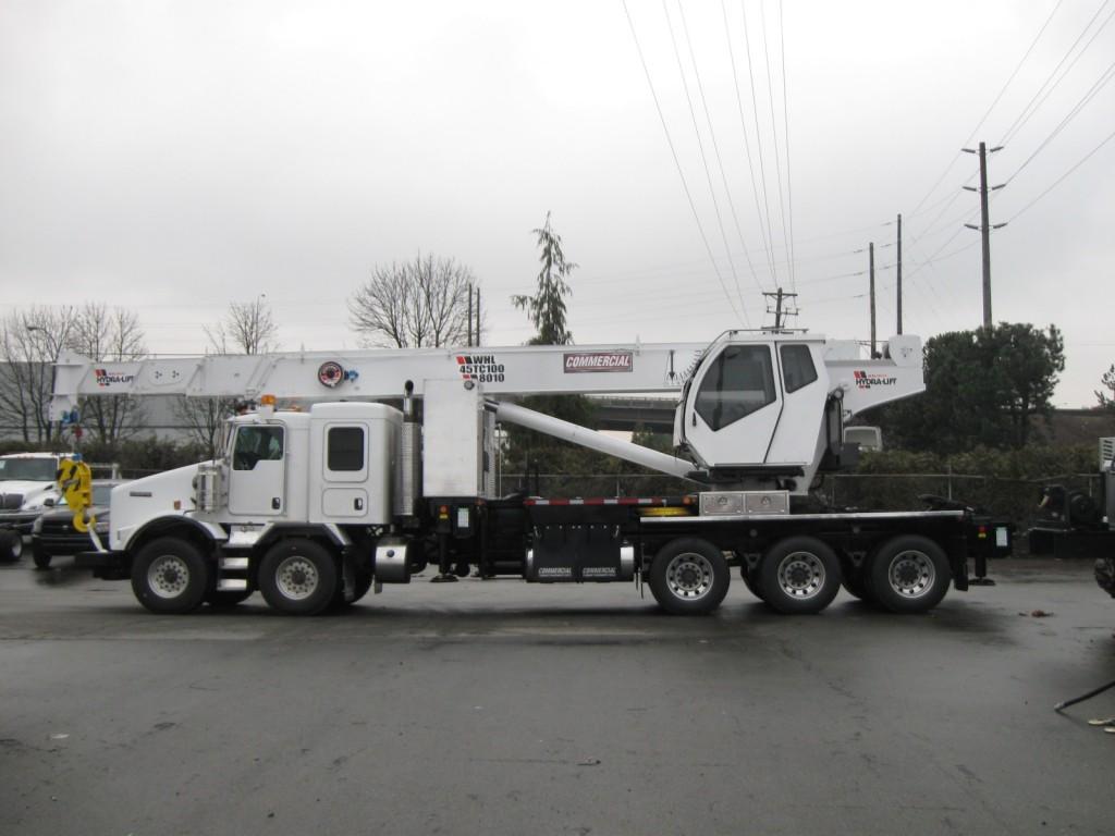Weldco 45 T Stiff Boom Crane on Kenworth T800