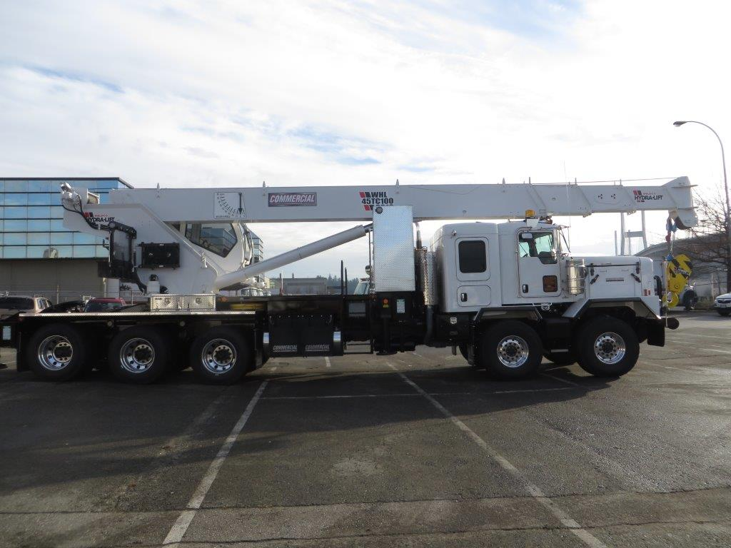 Weldco 45 T Stiff Boom Crane on Kenworth C500