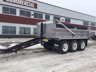 RENN 17′ Box on Tri-axle Spring Ride Pup