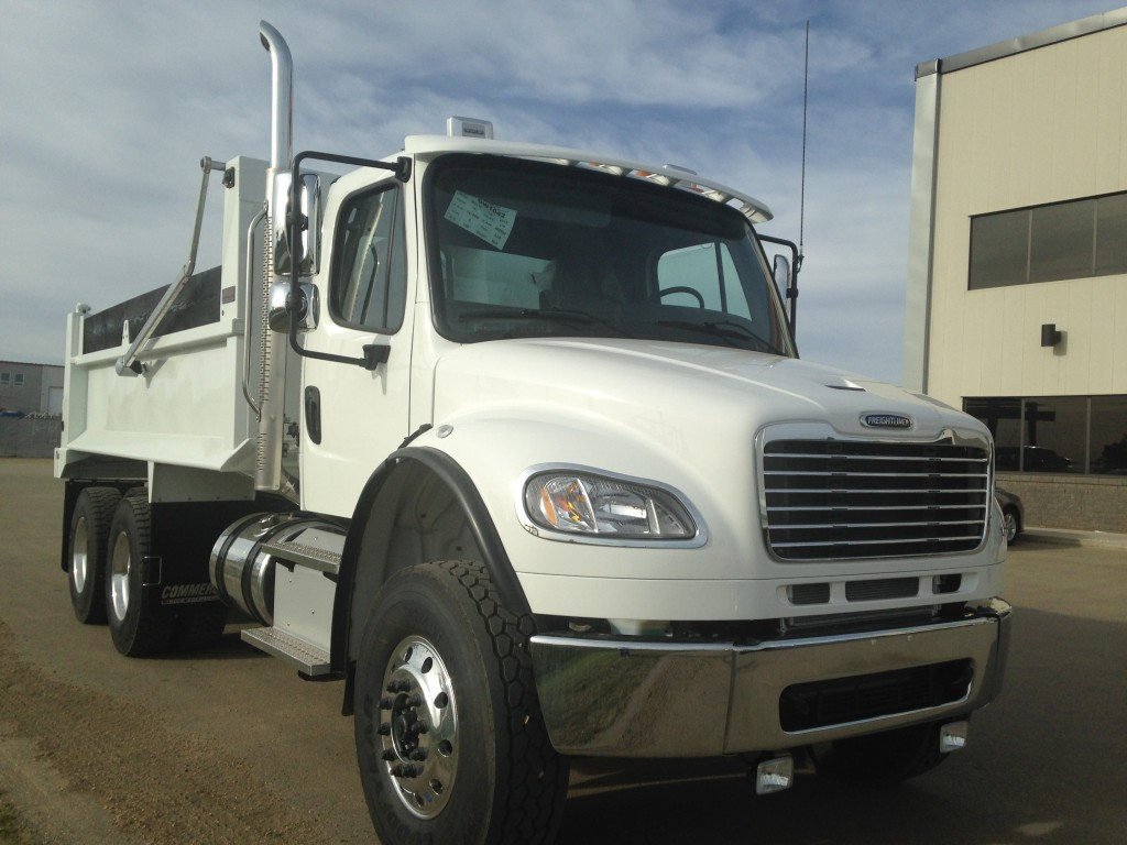Bibeau 15′ MHD Gravel Box on Freightliner M2 106