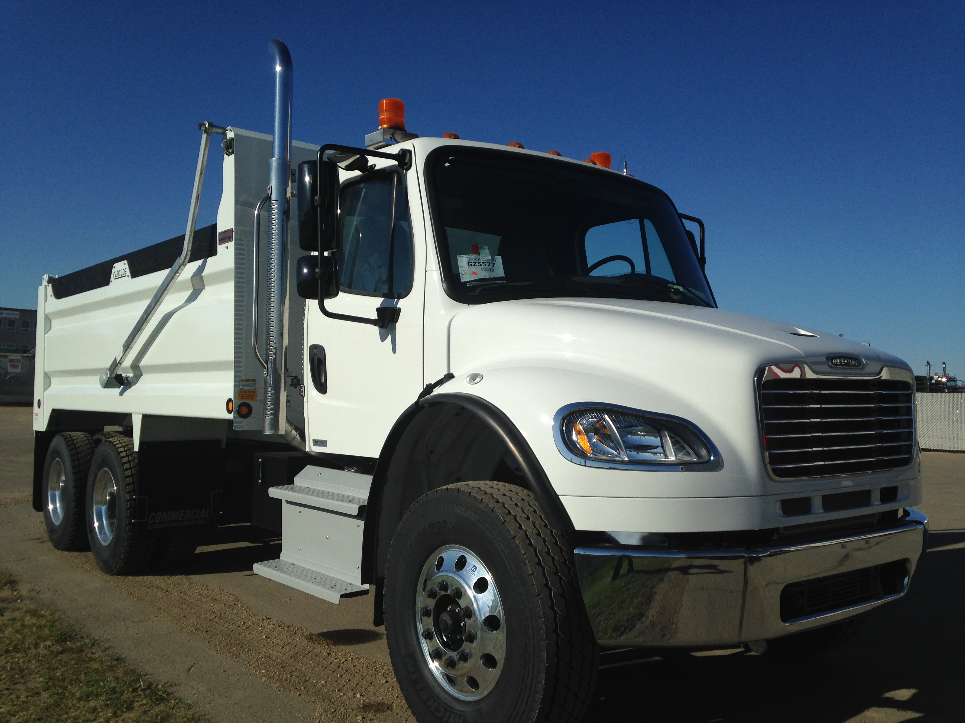 Cancade 15 Steel Box On Freightliner M2 106 Commercial
