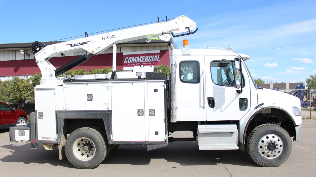 132″ Maintainer Service Body on Freightliner M2 132 4×4 extended cab
