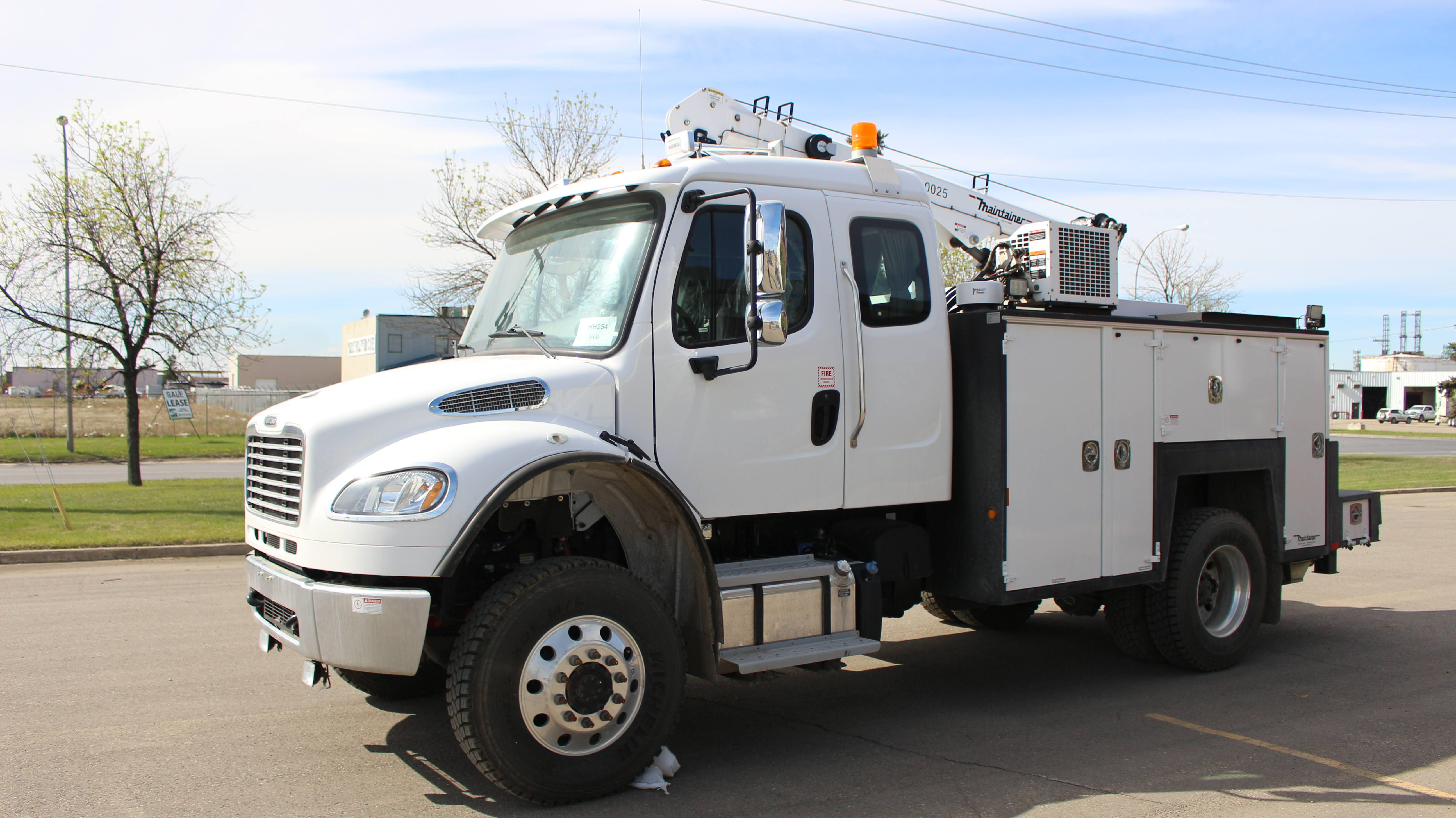 132 Quot Maintainer Service Body On Freightliner M2 132 4x4