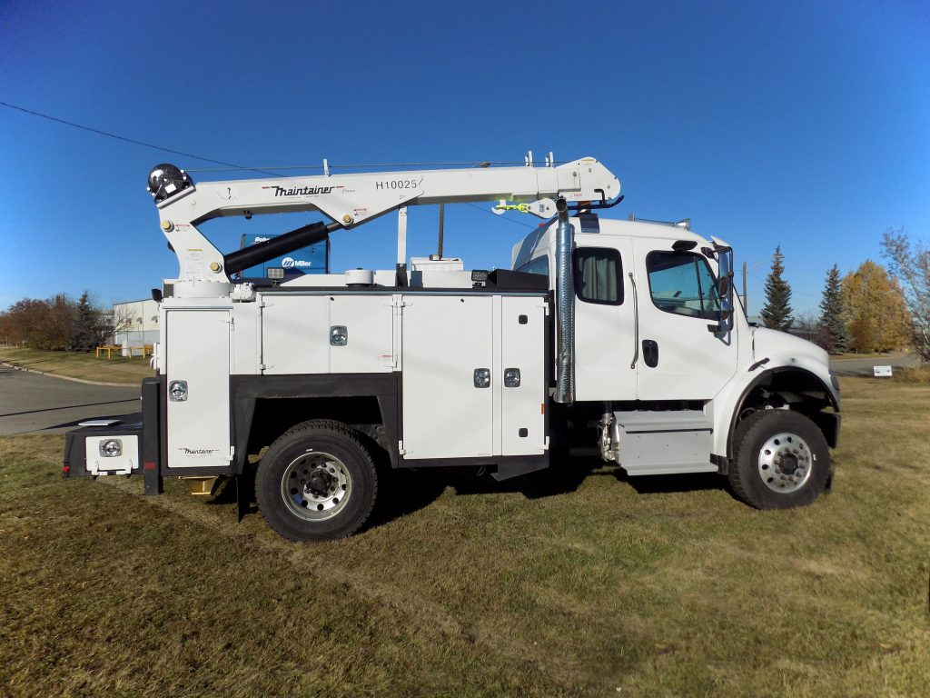 132″ Maintainer Service Body on M2 132 4×4 Extended Cab