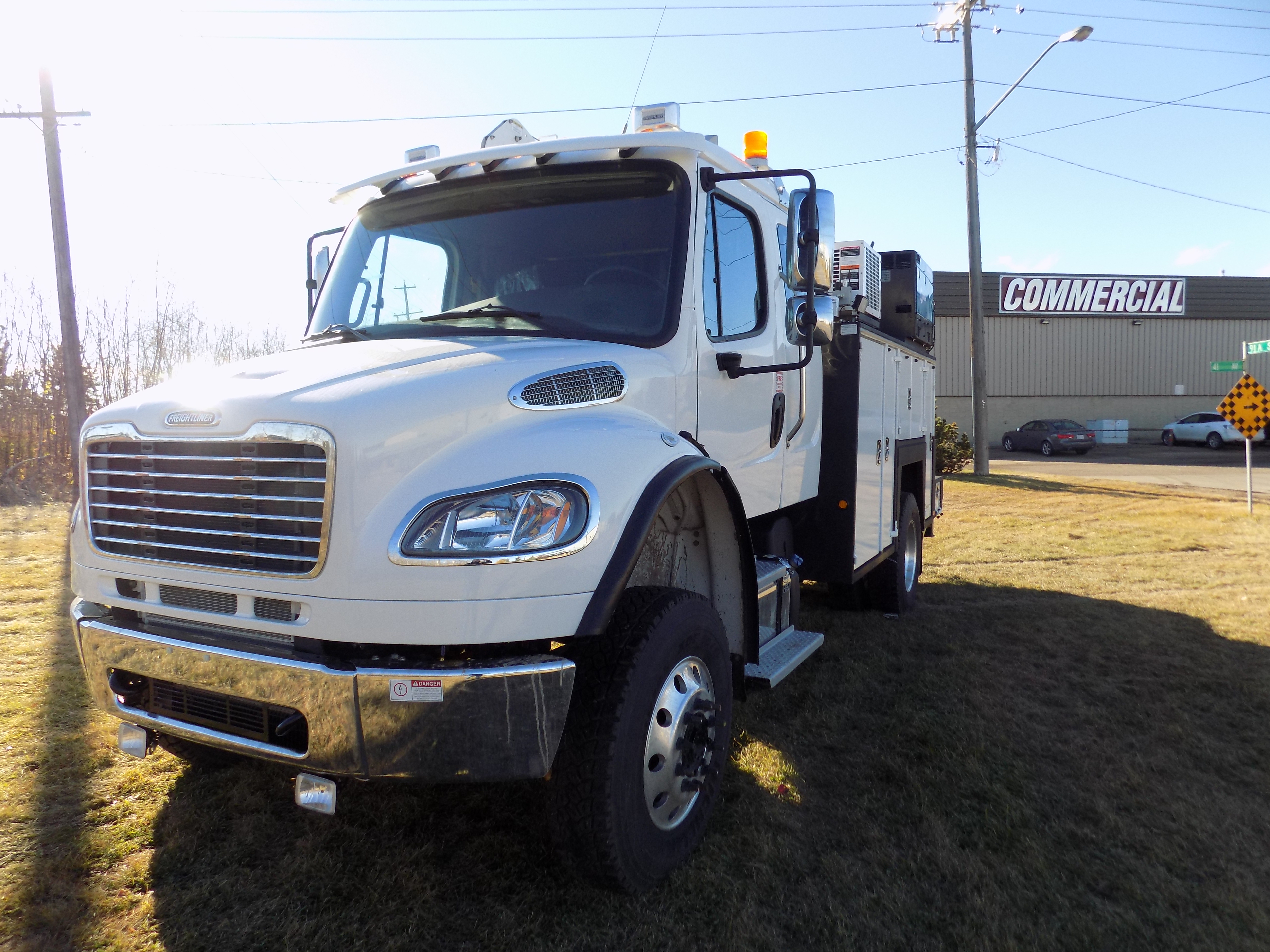 132 Quot Maintainer Service Body On Freightliner M2 132