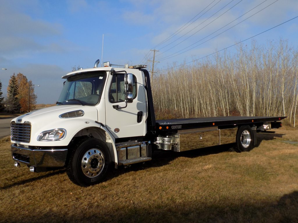 Century 16 Series 23′ Carrier on Freightliner M2