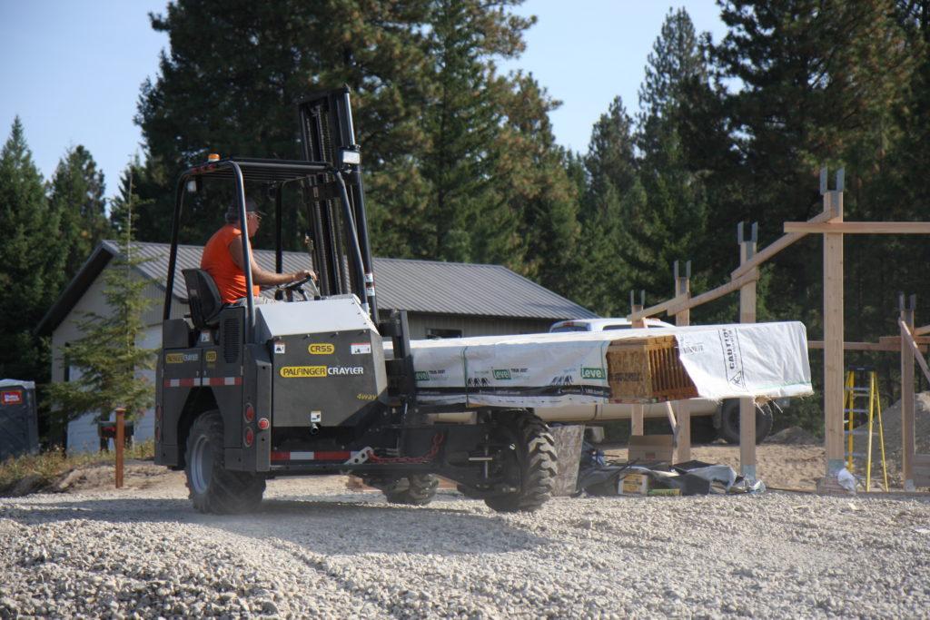 CR55 4-WAY Palfinger Truck Mounted Forklift