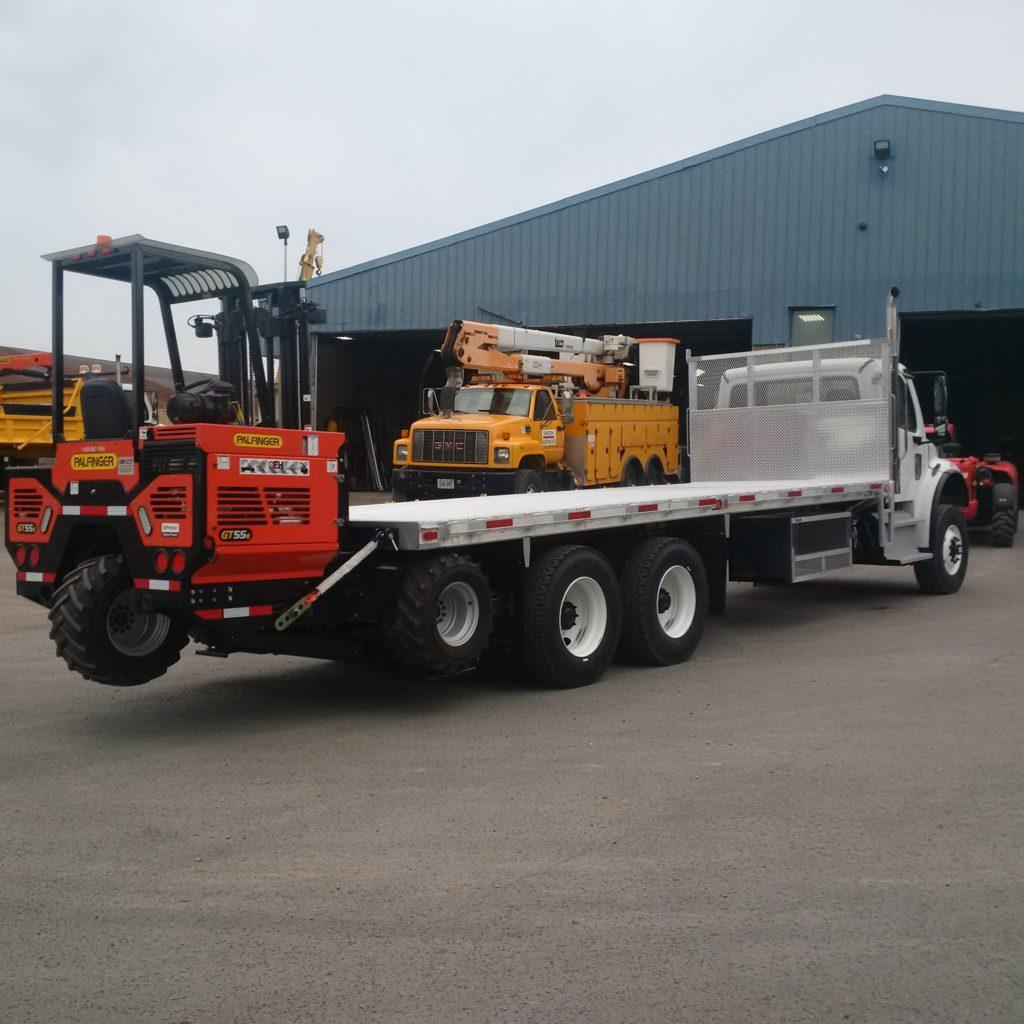 GT55 HP Palfinger Truck Mounted Forklift