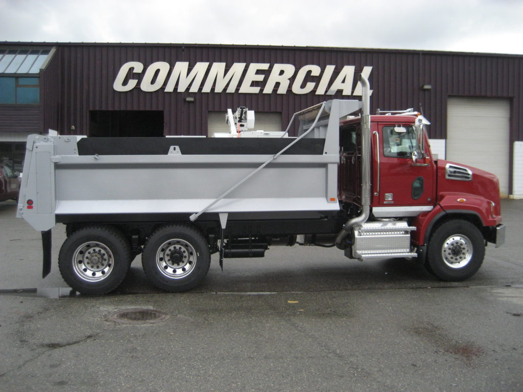 Bibeau 16'6″ Gravel Box on Western Star 4700