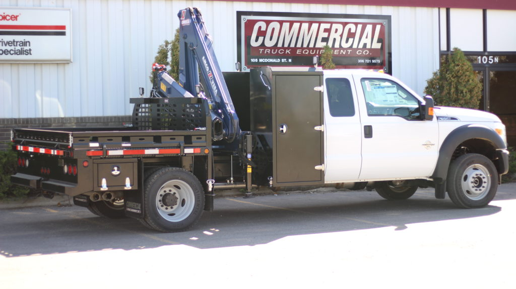 Oilfied ServiceTruck w/Amco Veba 906N Crane on Ford F550