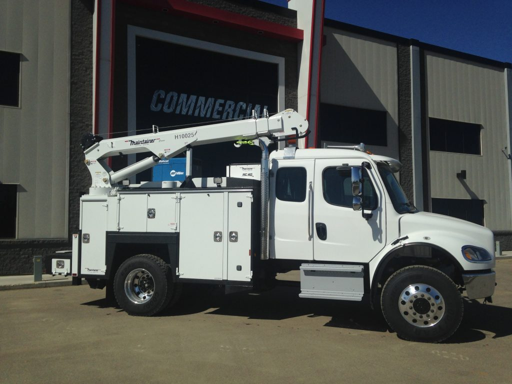 132″ Maintainer Service Body on Freightliner M2 132 4×4