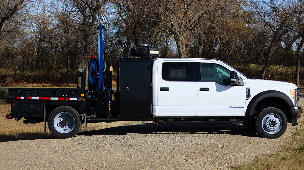 Oilfield Service Truck w/ Amco Veba 906N Crane on Ford F550