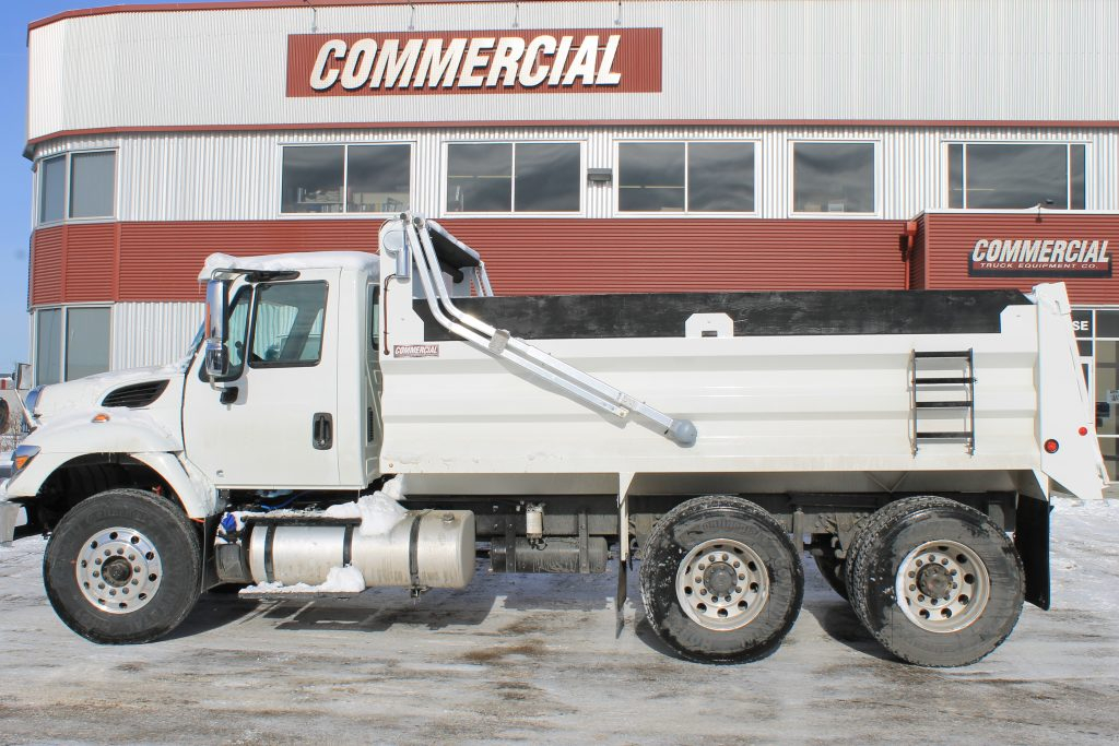 Renn 15′ HSSL Gravel Box on 7400 International SBA 6×4