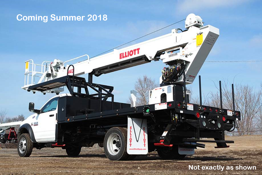 Elliott M43R Hi Rech on Ram 5500 4×4
