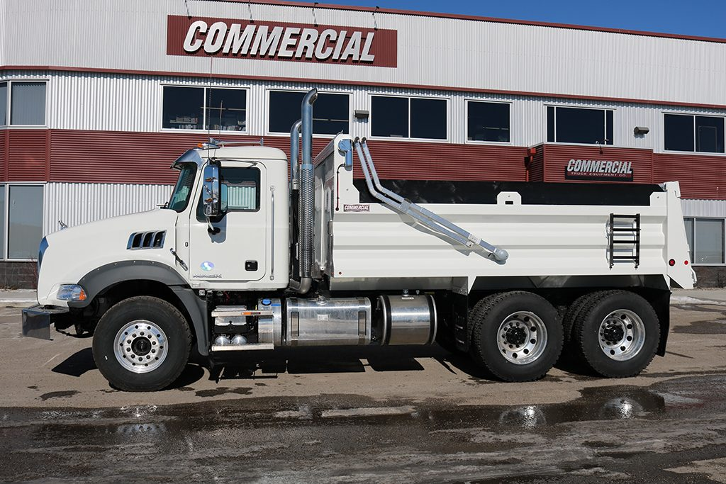 Renn 15′ HSSL Gravel Box on Mack GU813
