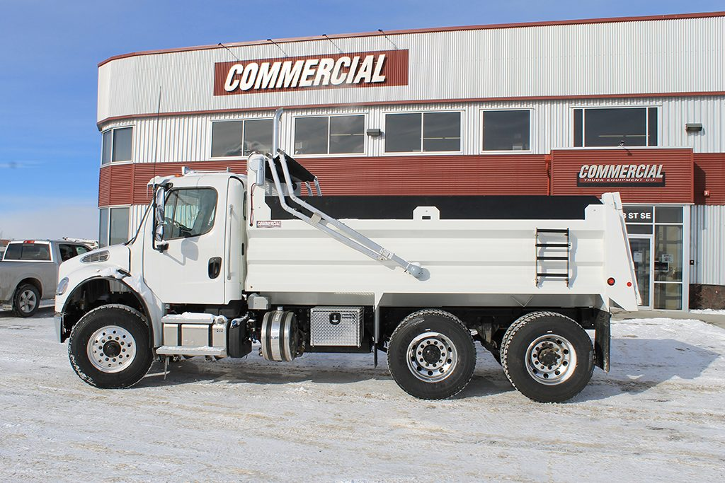 Renn 15′ HSSL Gravel Box on Freightliner M2-106